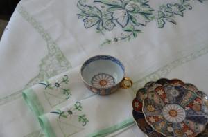 El mantel de mesa de la abuelita.
