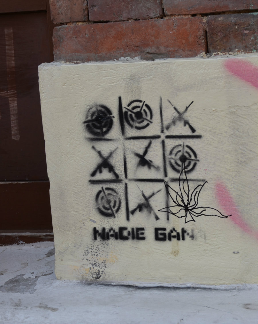 El grafiti se tomó a Bogotá.