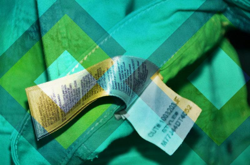 Etiquetas, marquilla de esclavitud.