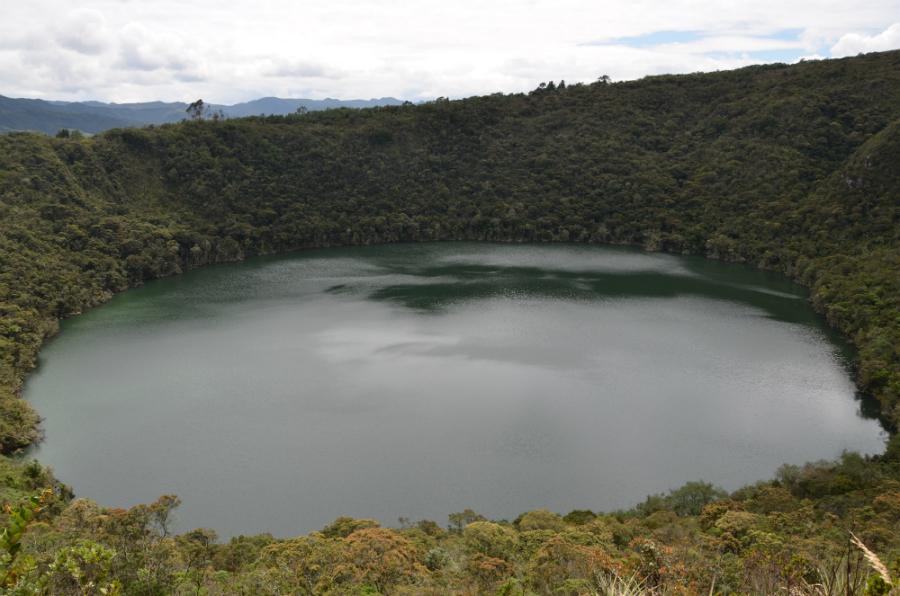Guatavita, laguna de oro.
