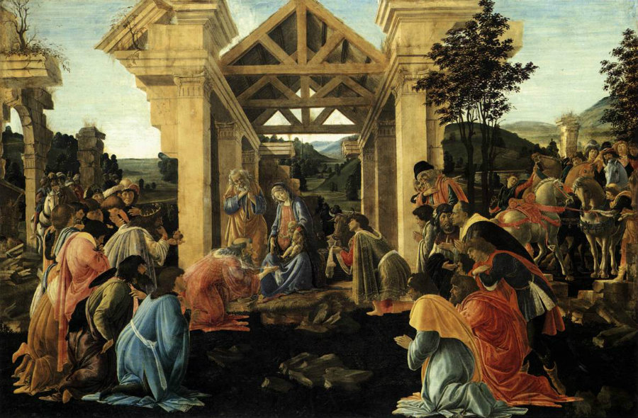 Botticelli-adoracion-de-los-reyes-magos-1482national-gallery-washington